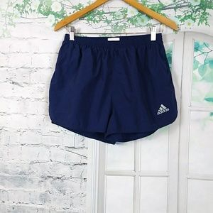 Adidas Women's blue Navy/ White Shorts Sz M